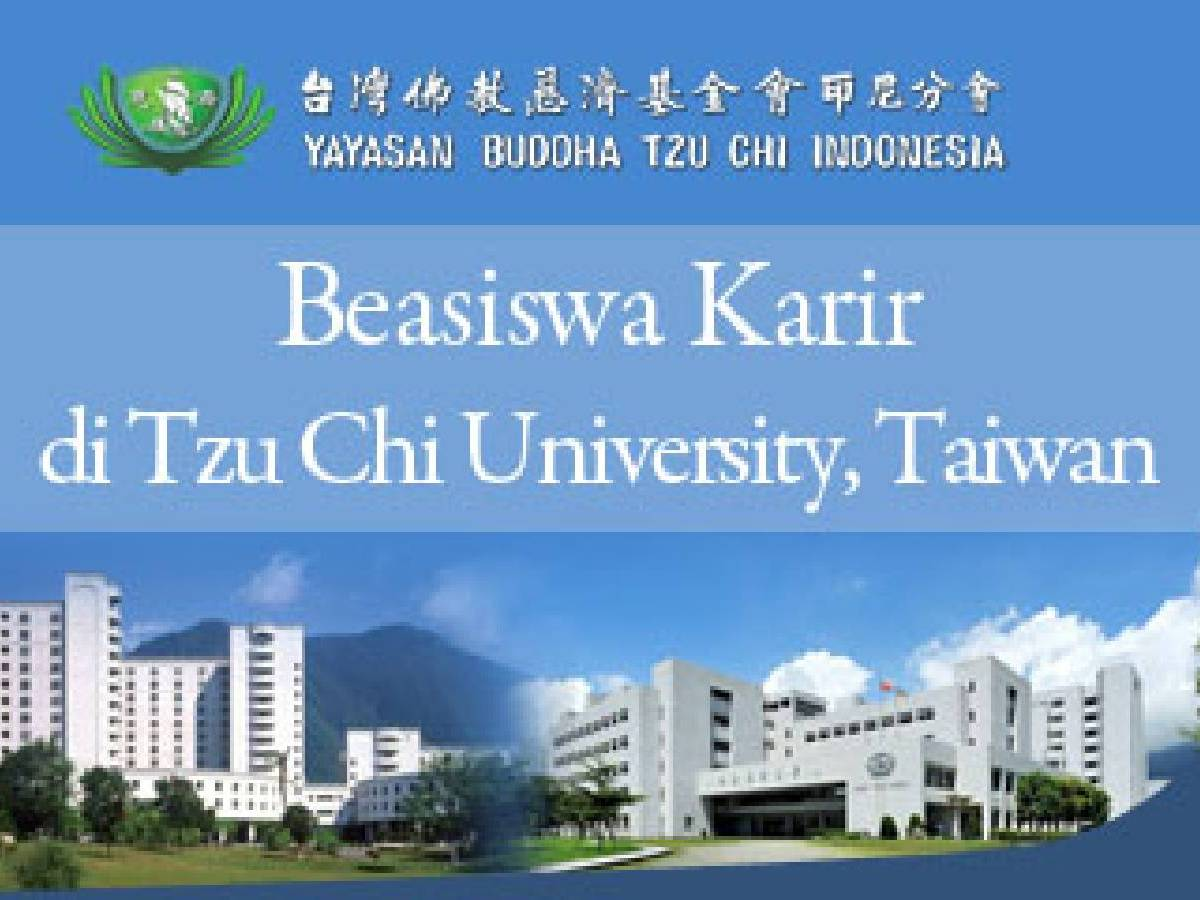 Beasiswa Karir di Tzu Chi University Taiwan