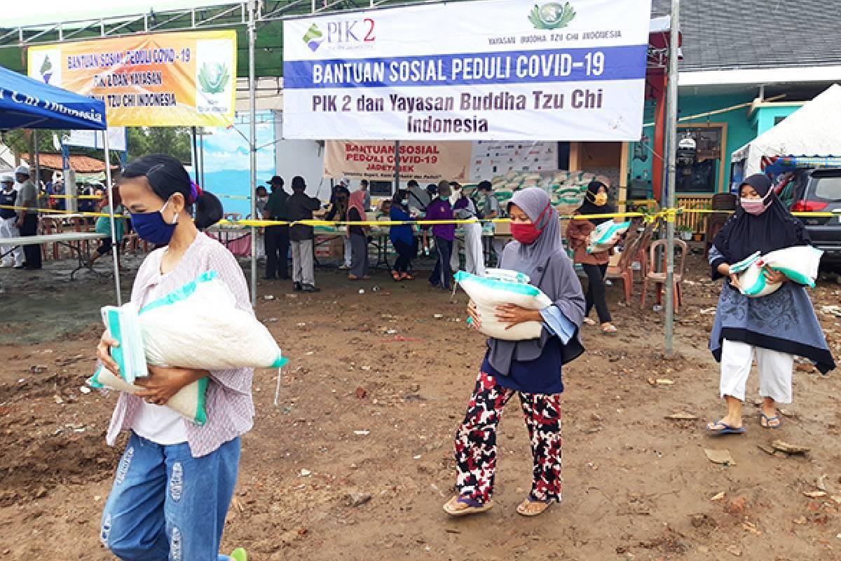 Kisah Warga Tanjung Pasir Hadapi Pandemi