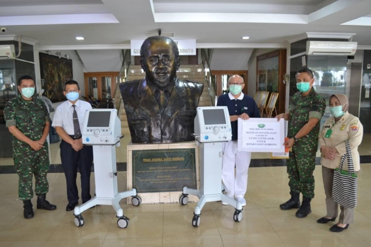 Satu Juta Masker dan Rapid Test Kit untuk Indonesia
