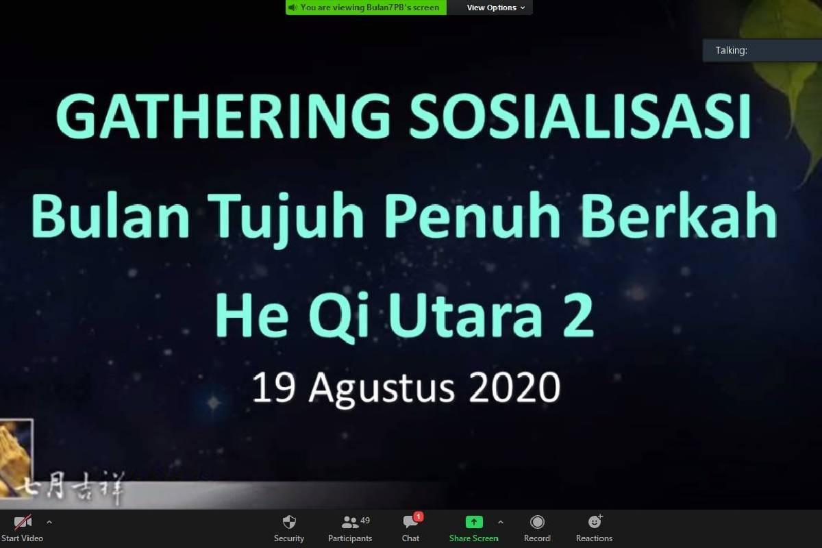 Gathering Sosialisasi Bulan Tujuh Penuh Berkah