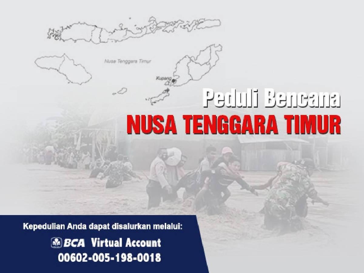 Bantuan Bagi Korban Banjir Bandang di Nusa Tenggara Timur (NTT)