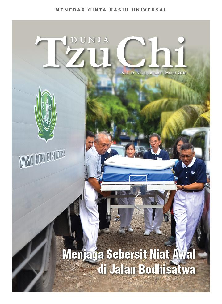 Majalah Dunia Tzu Chi Januari - Maret 2018