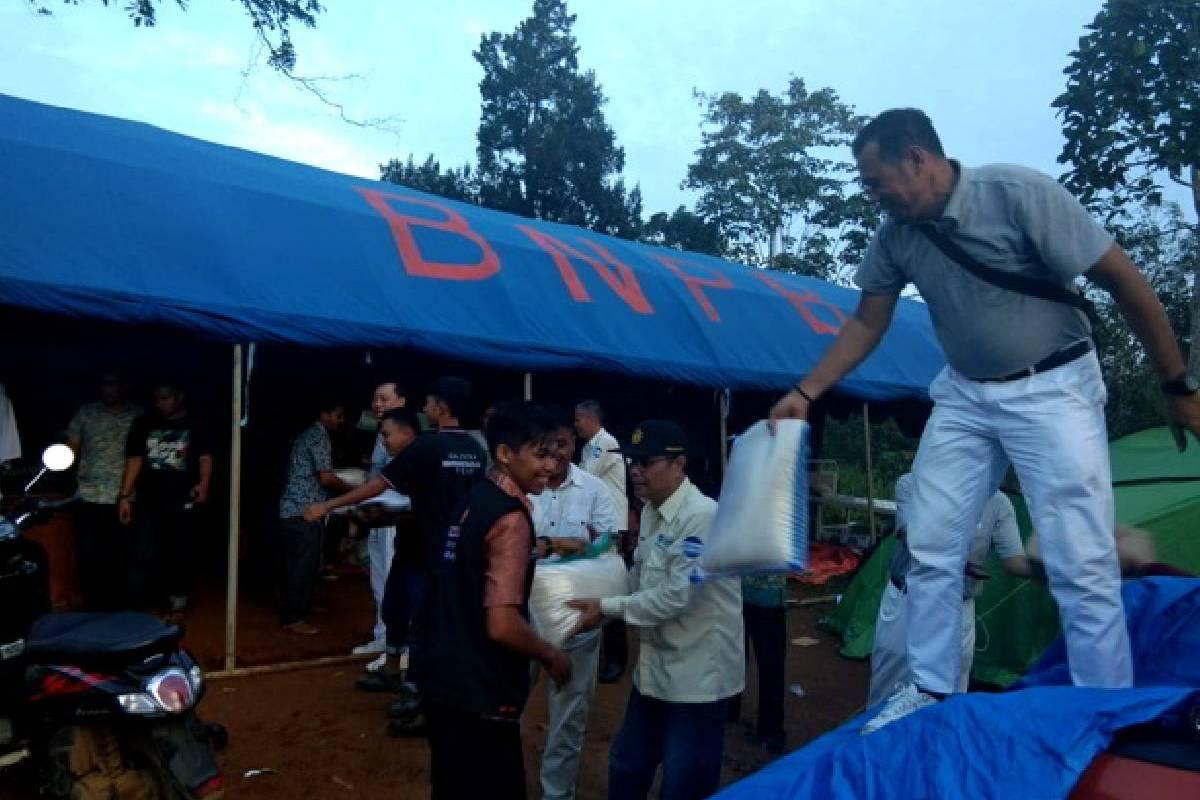 Bantuan bagi Korban Gempa di Solok Selatan