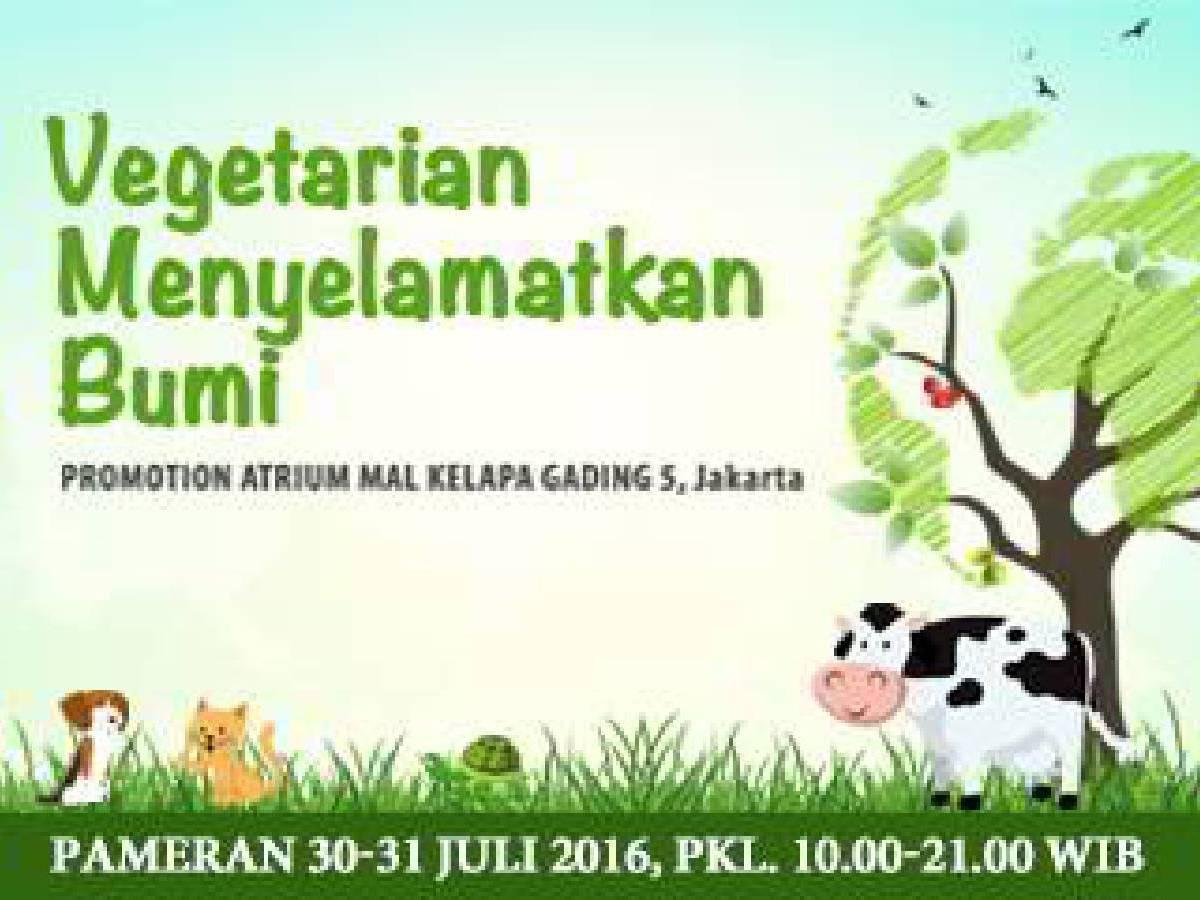 Vegetarian Menyelamatkan Bumi