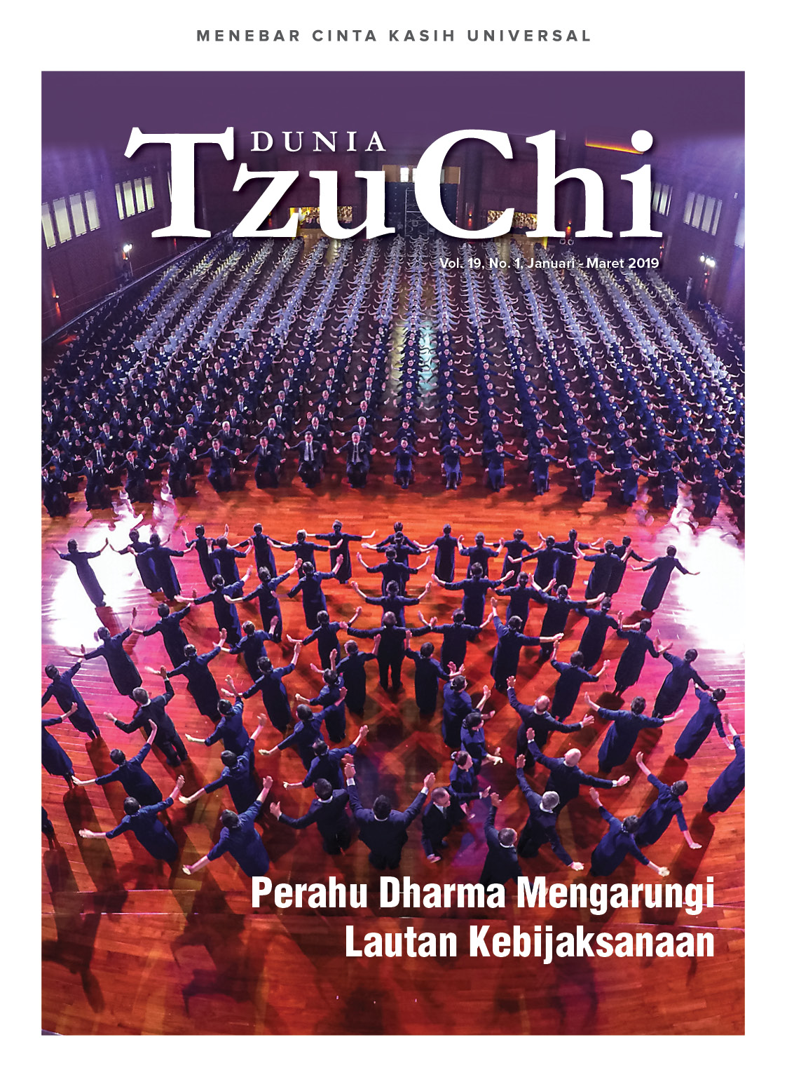 Majalah Dunia Tzu Chi Januari - Maret 2019