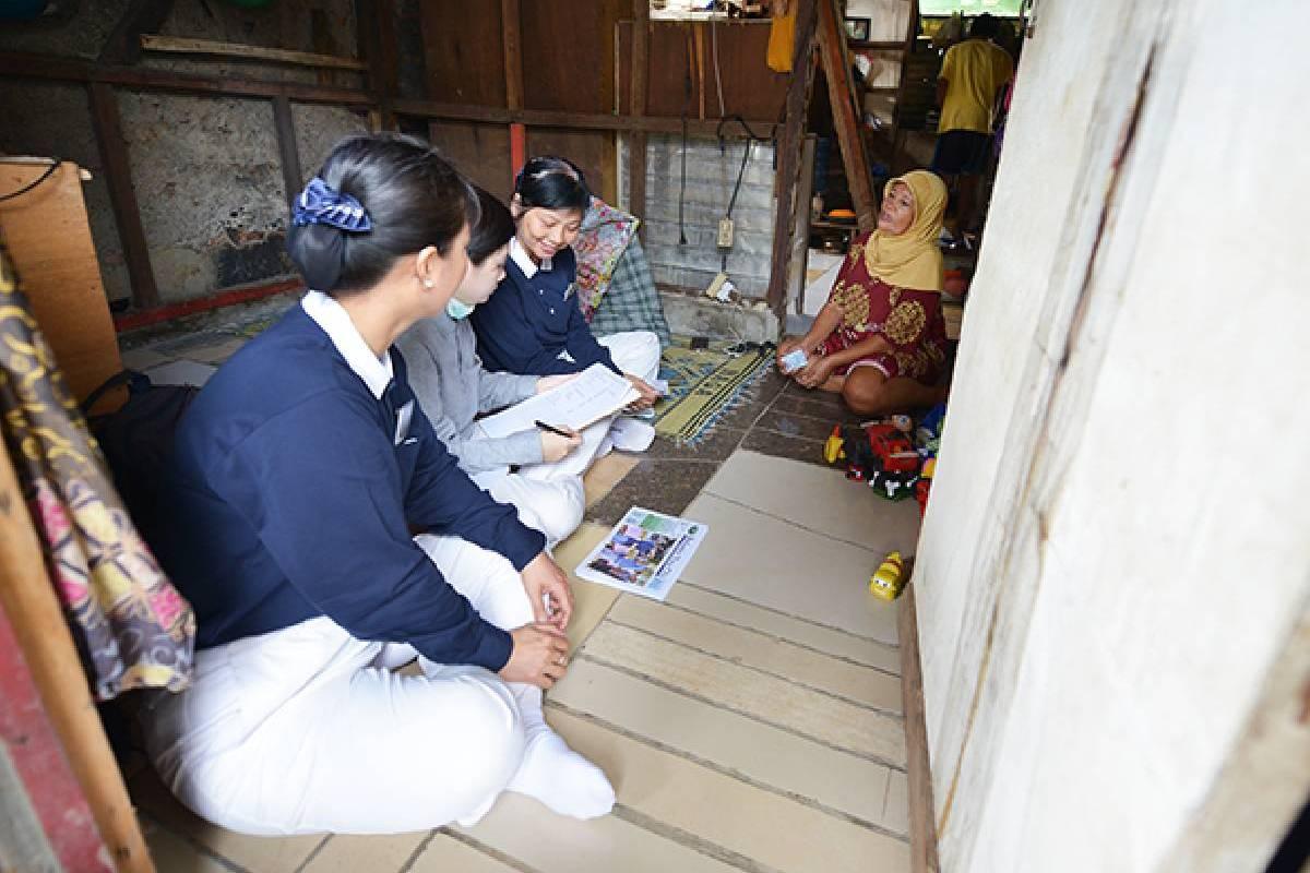 Survei Program Bebenah Kampung Tzu Chi di Semanan
