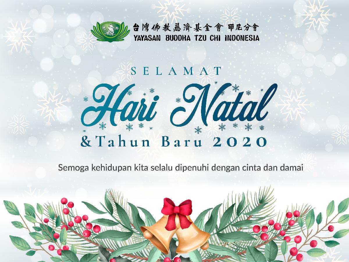 Selamat Hari Natal & Tahun Baru 2020