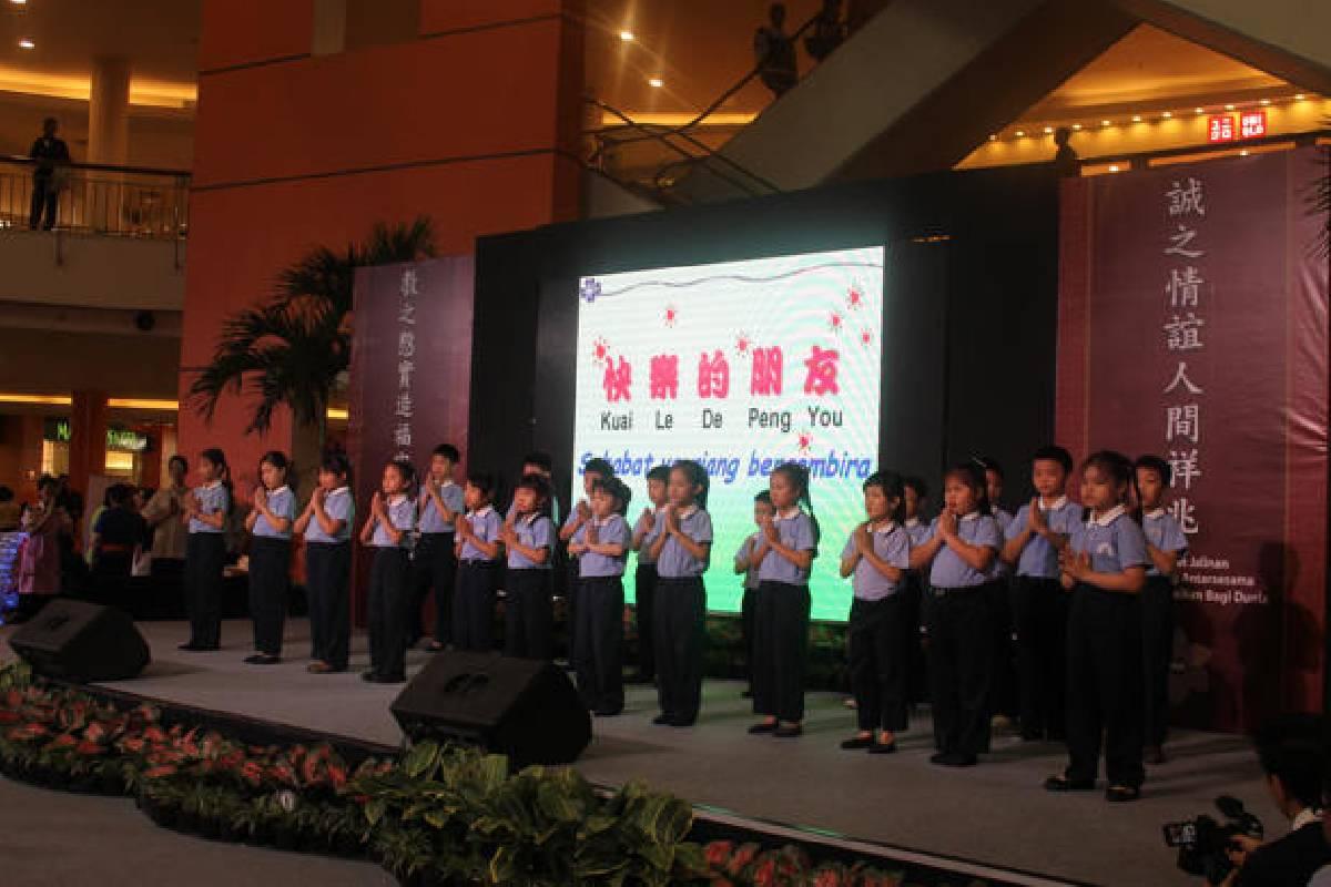 Pameran Jing si : Saatnya Menjadi Relawan