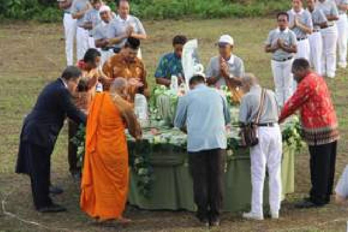Merasakan Kebhinnekaan di Perayaan Waisak Tzu Chi Biak