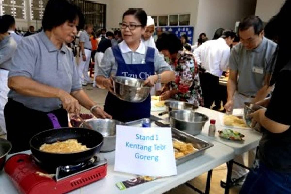 Perayaan Bulan Tujuh Penuh Berkah di Tzu Chi Tangerang