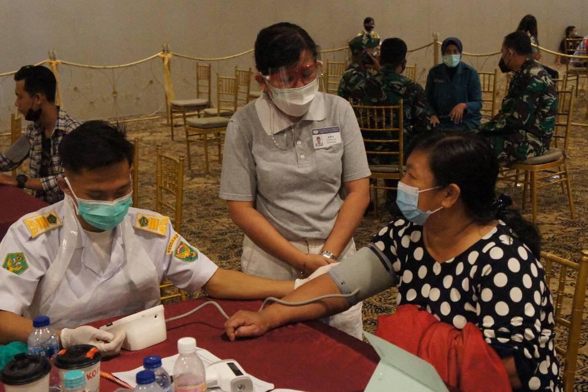 Mendukung Program Vaksinasi Covid-19 di Palembang