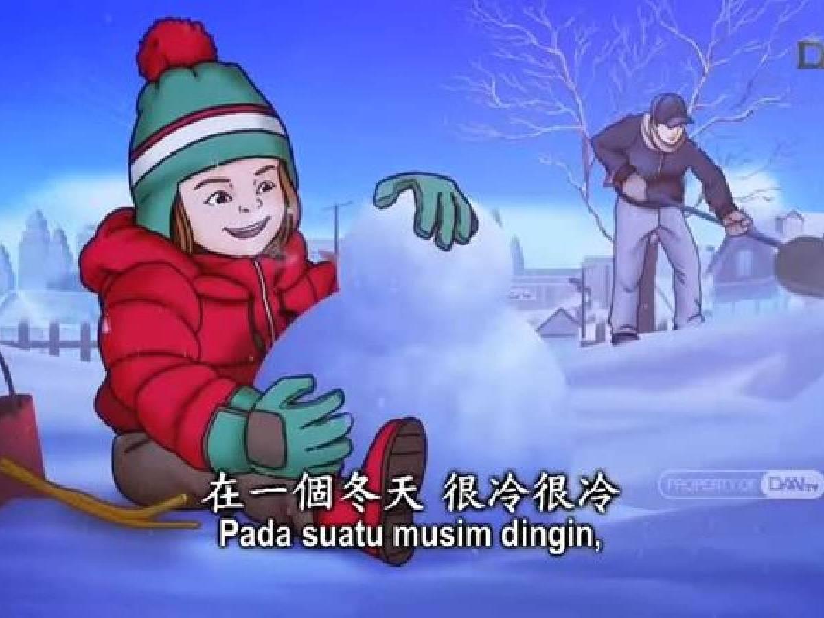 Master Bercerita: Kebahagiaan Menyapu Salju