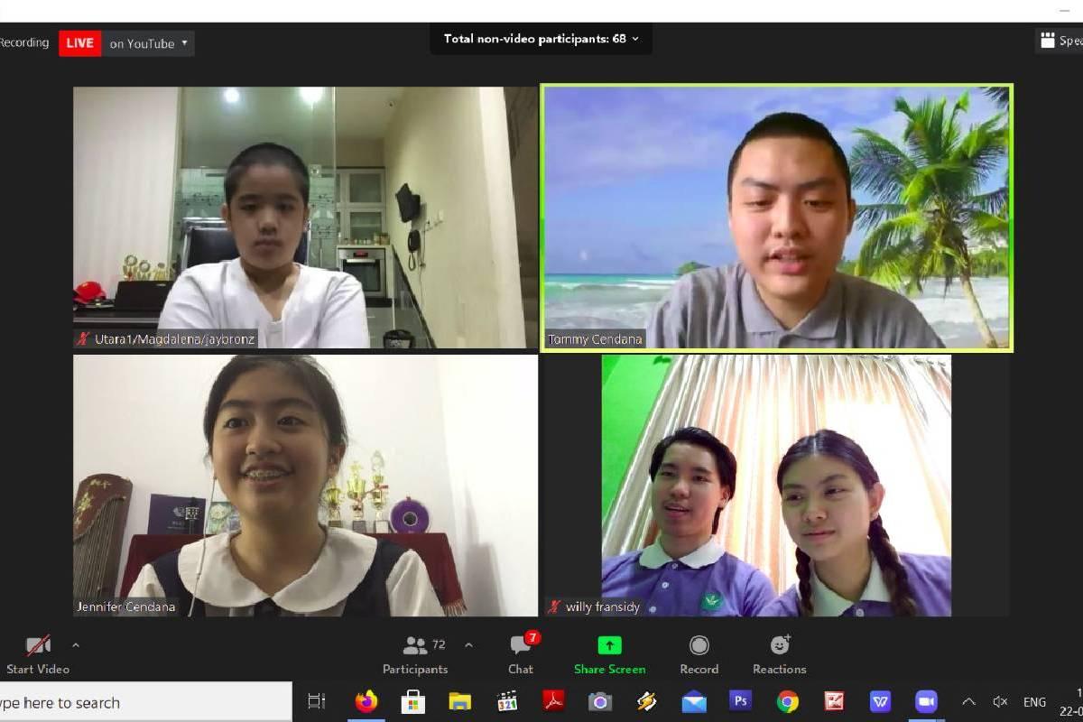 Diskusi Anak Muda Keren Tentang Vegetarian