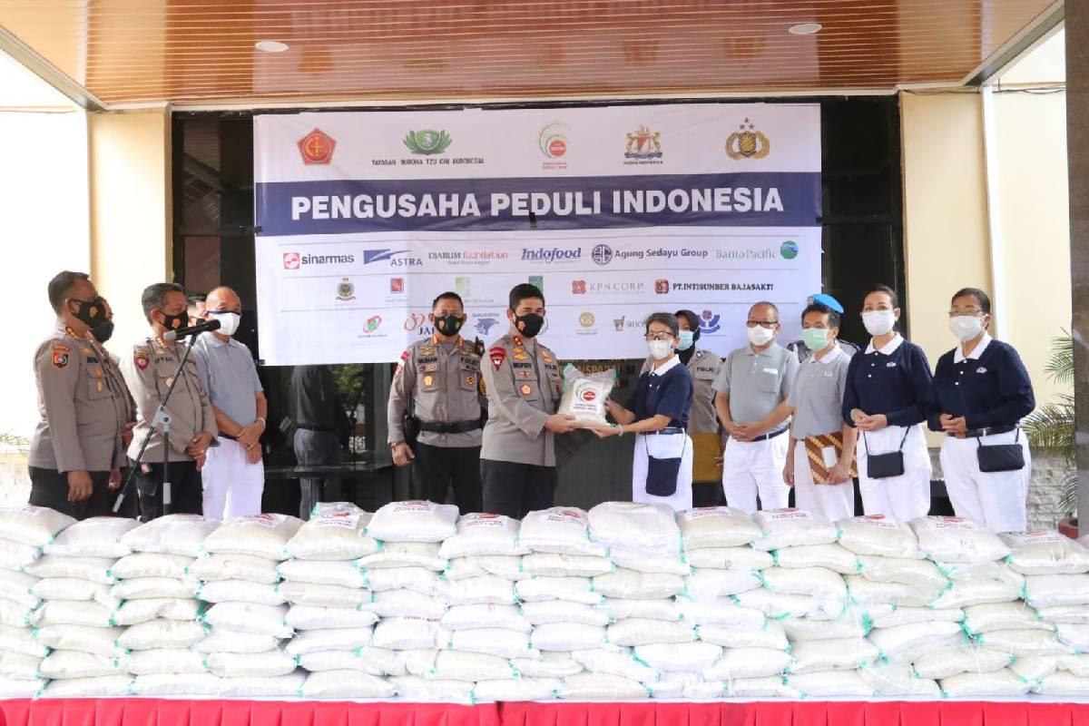 Bantuan Beras 200 Ton di Sulawesi Selatan
