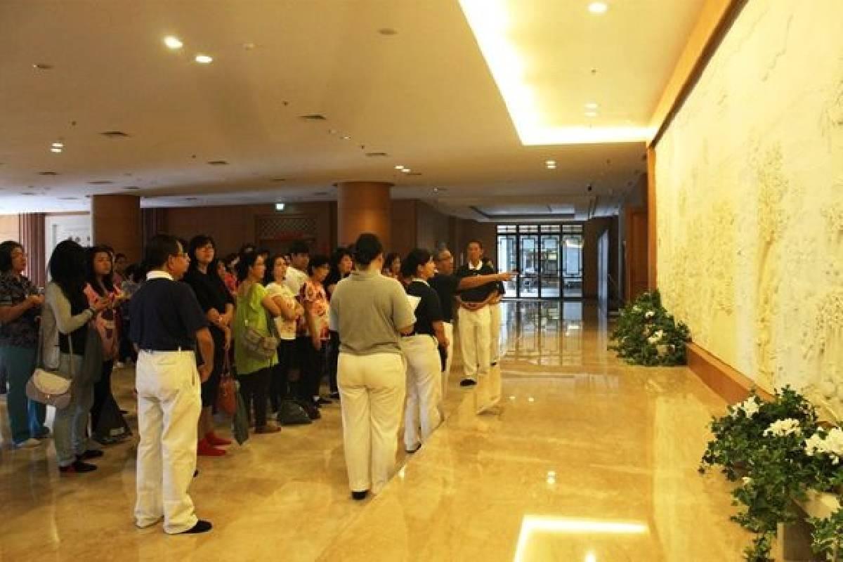 Aula Jing Si, Bangunan nan Indah dan Menginspirasi
