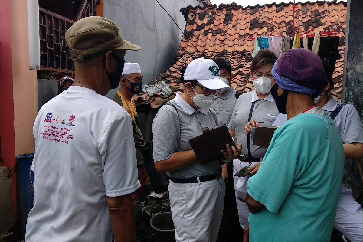 Survei Program Bebenah Kampung Tzu Chi Tahap Dua