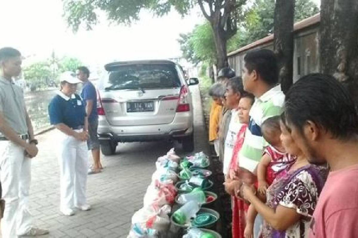 Sigap Membantu Warga Makassar