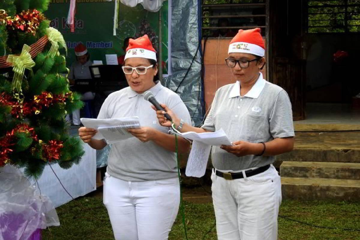 Perayaan Natal Bersama di Distrik Andei