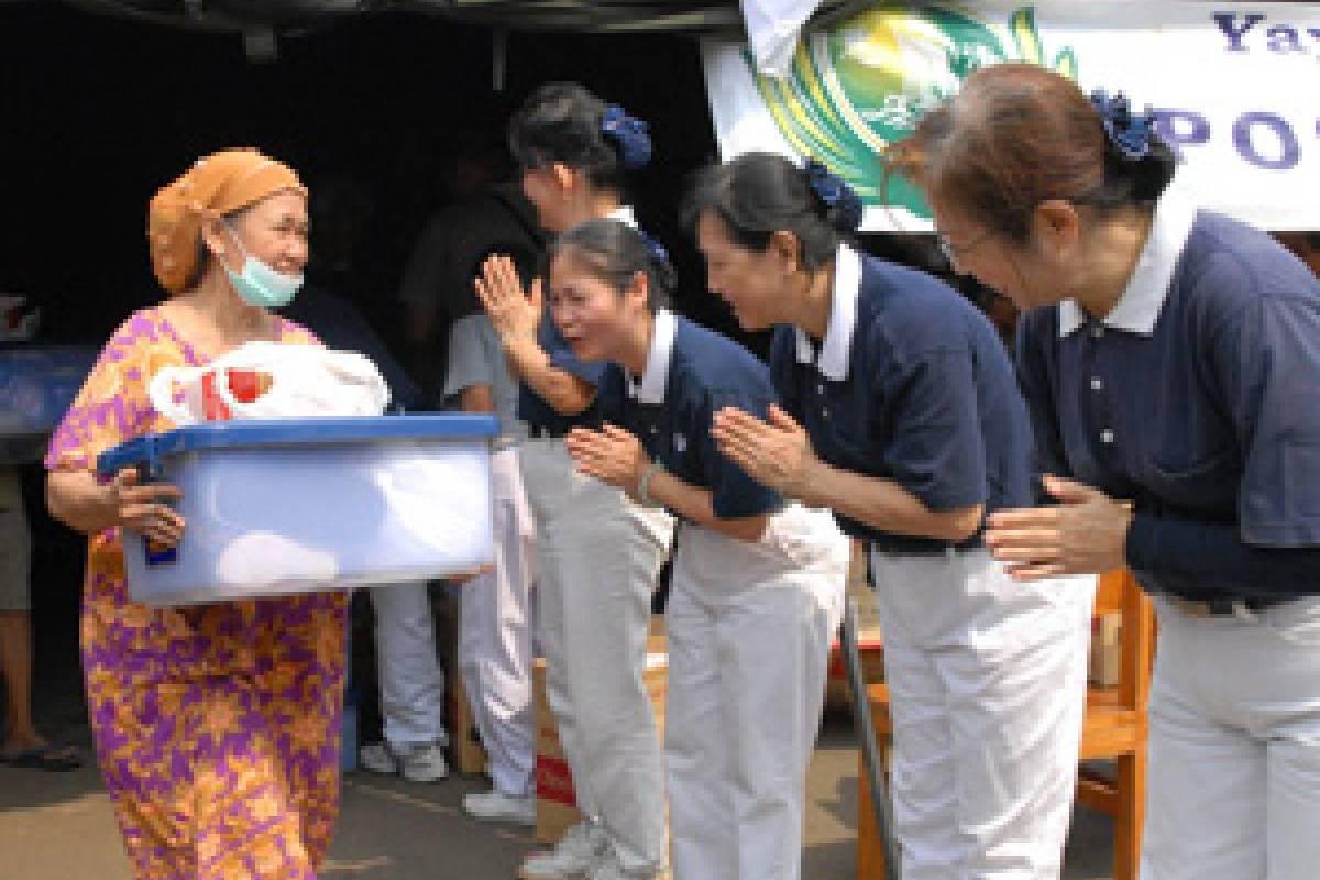 Bantuan Bagi Korban Kebakaran di Sawah Besar