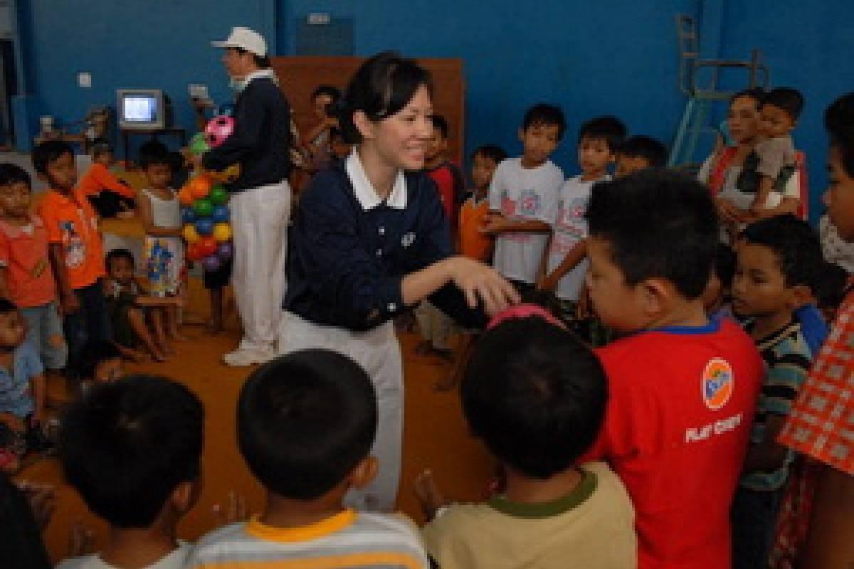 Peduli Merapi: Sarana Bermain Anak-anak
