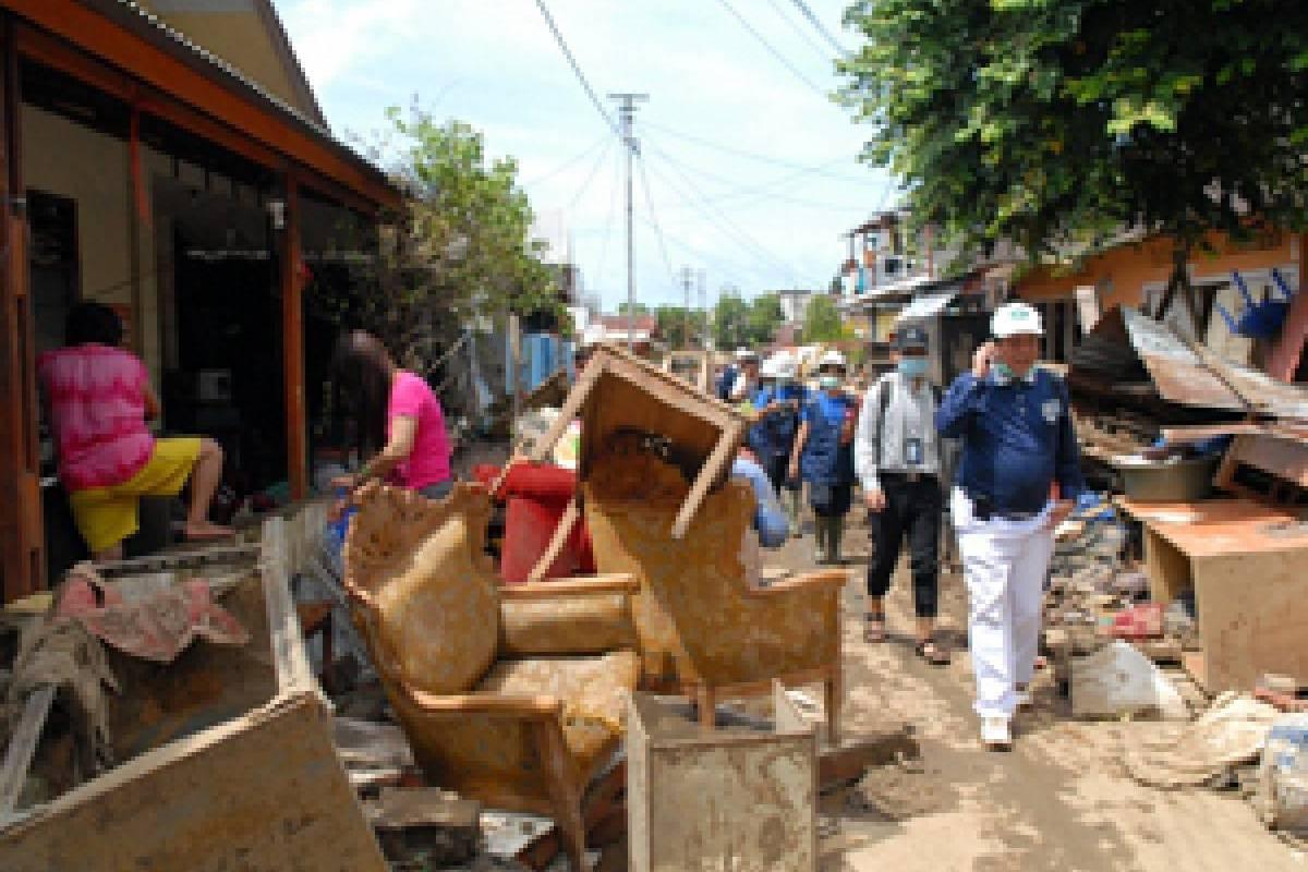 Banjir Manado: Survei Pertama ke Wilayah Bantuan