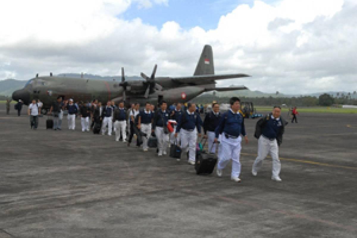 Bersiap untuk Pembagian Bantuan di Manado