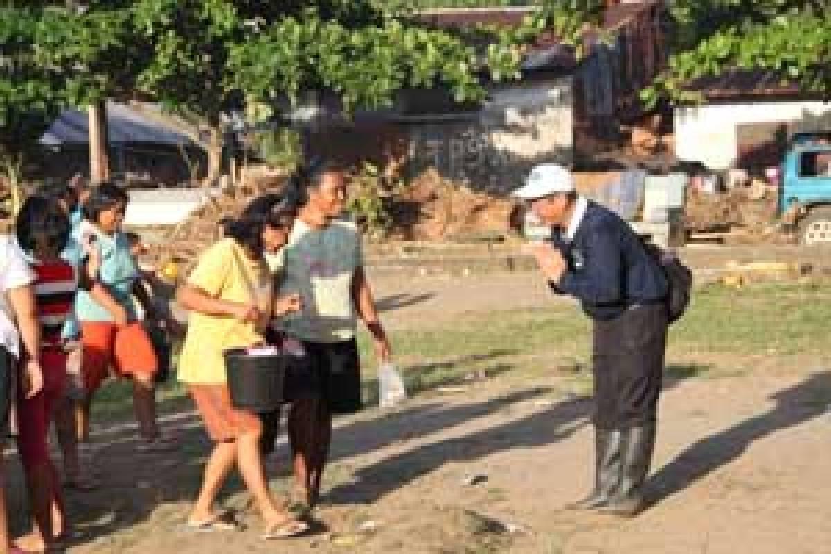 Banjir Manado: Berlapang Dada