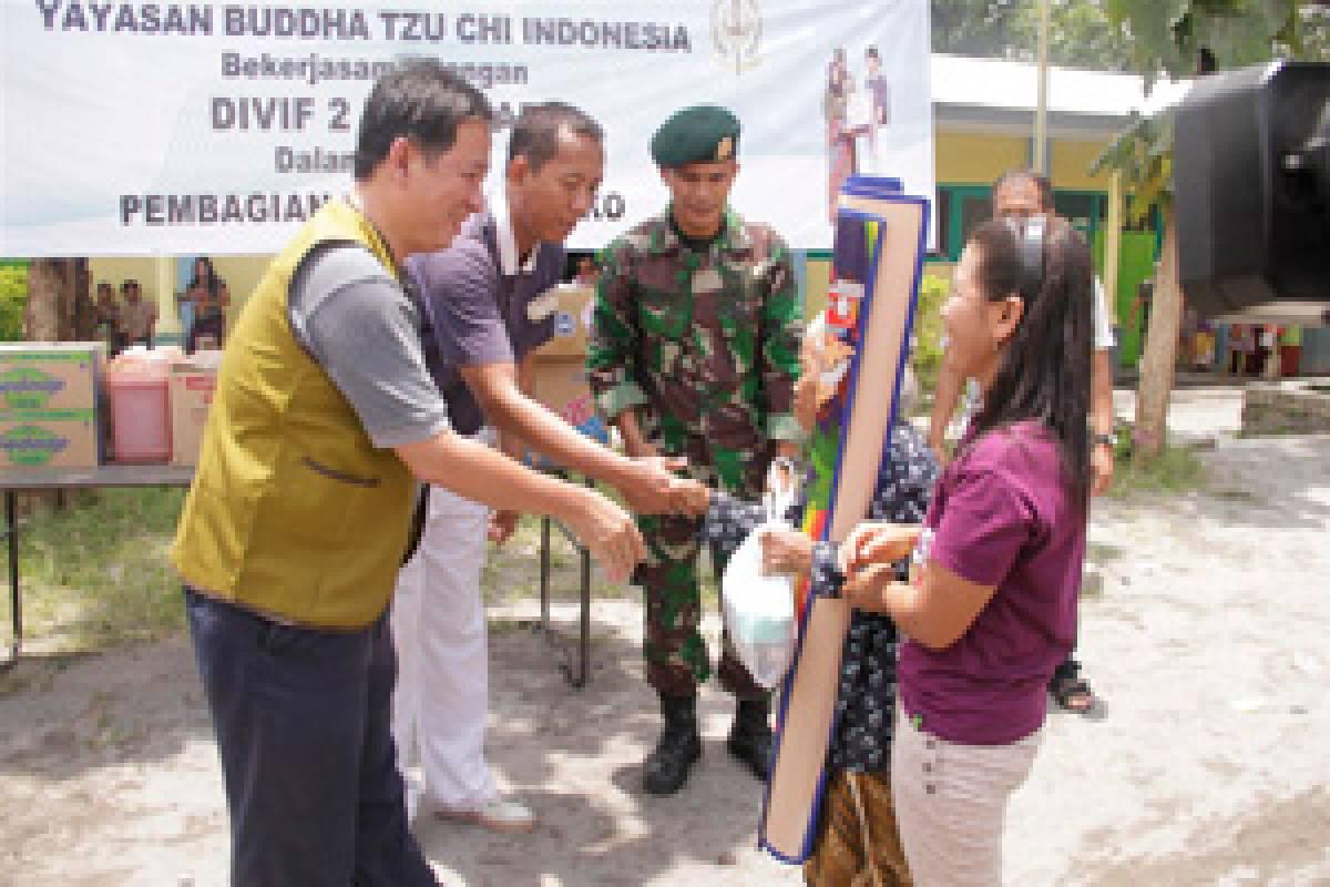 Bantuan Tahap Kedua untuk Pengungsi Gunung Kelud
