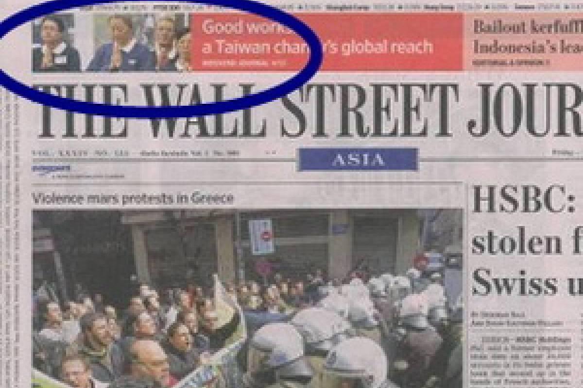 Internasional : Liputan The Wall Street Journal