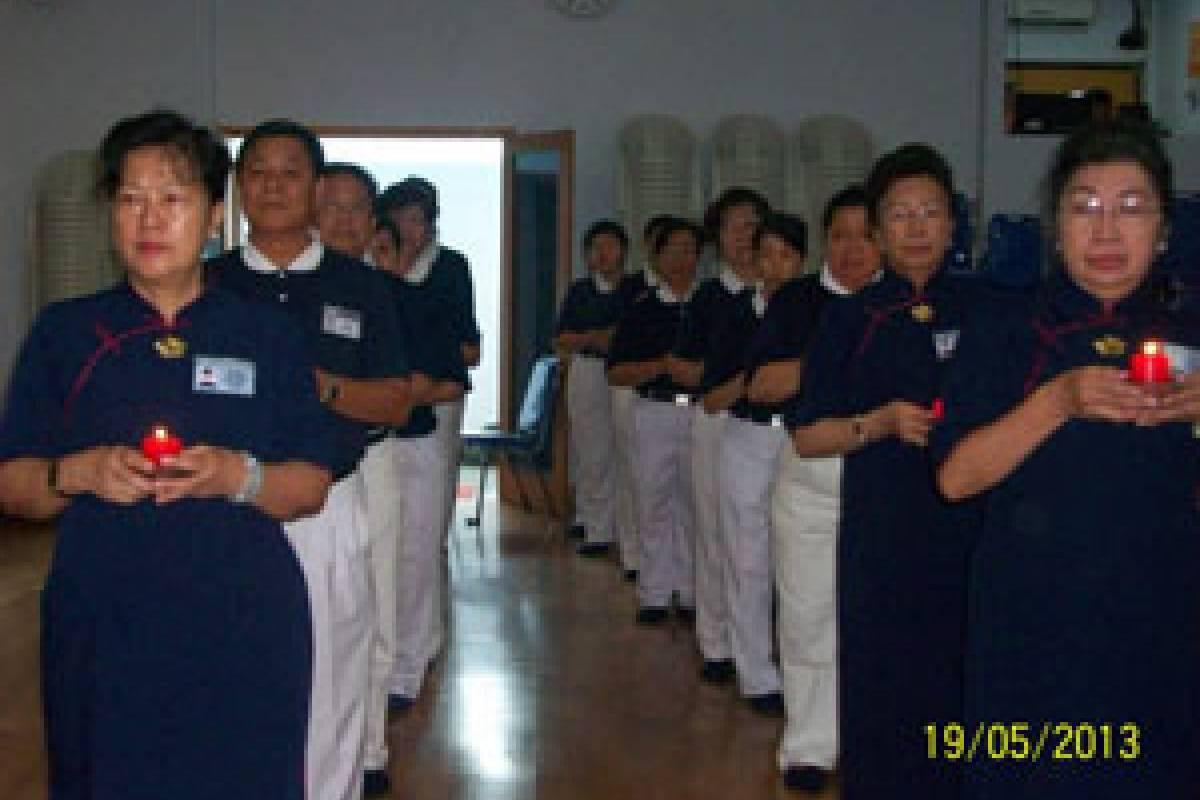 Waisak 2557: Perayaan Tiga Hari Besar di Makassar