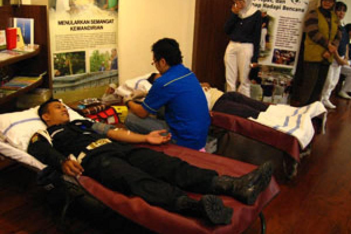 Semangat Berbagi melalui Donor Darah