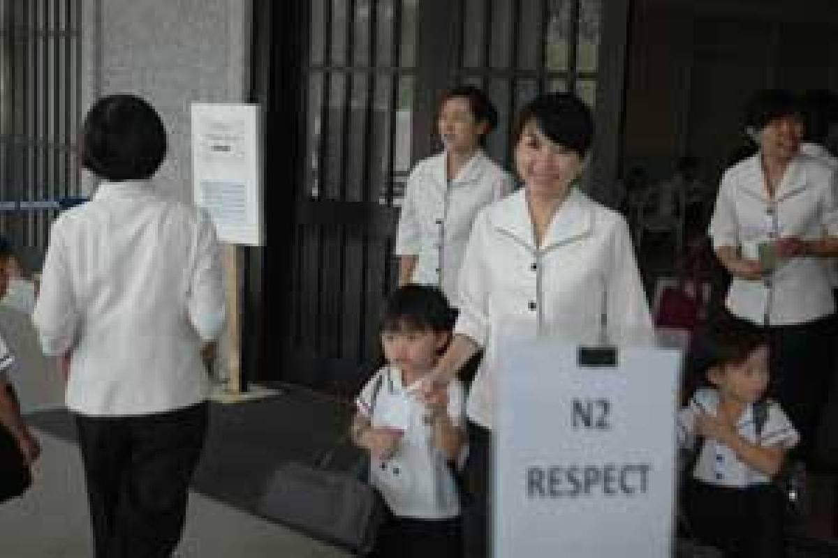 Penyuluhan Kesehatan di Sekolah Tzu Chi